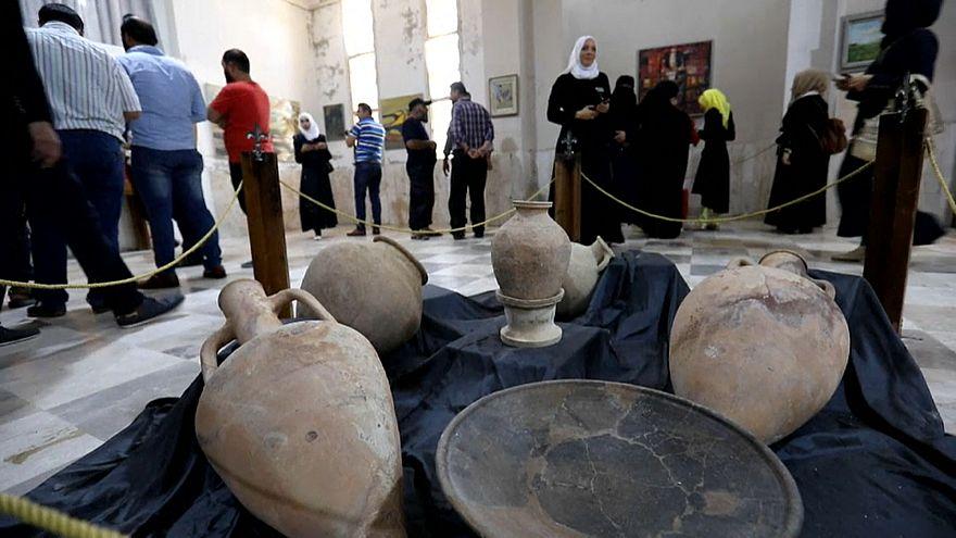 Idlib's antiquities museum