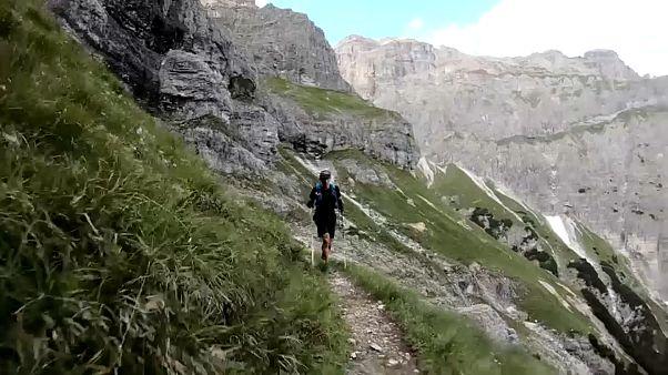 Traversée du Tyrol en un temps record pour Daniel Jung