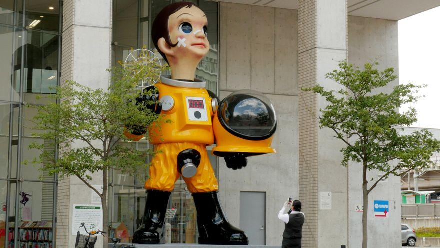 Megosztó fukusimai szobor