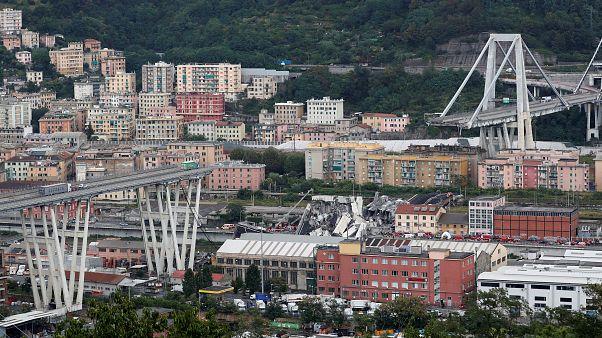 """Crollo del ponte a Genova, un testimone: """"Sembrava un film"""""""