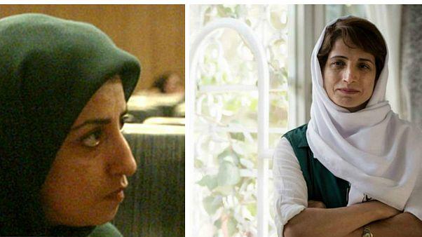 نسرین ستوده و نرگس محمدی فعال حقوق بشر
