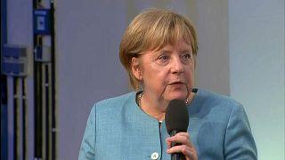 Angela Merkel: Bürgerdialog in Jena