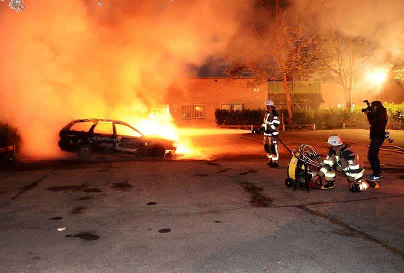 REUTERS/Fredrik Sandberg/TT News Agency