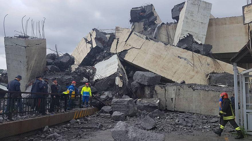 Un ingeniero advirtió en 2016 de los riesgos de derrumbe del puente en Génova