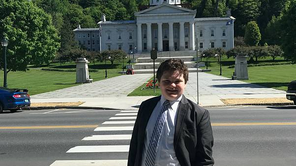 نوجوان ۱۴ ساله کاندیدای انتخابات فرمانداری در آمریکا