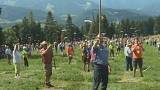 Watch: Slovenians gather to set Guinness World Record in scything