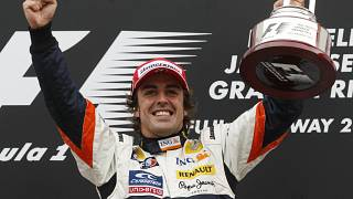 McLaren driver Fernando Alonso announces he is to retire from Formula 1 at the end of the season