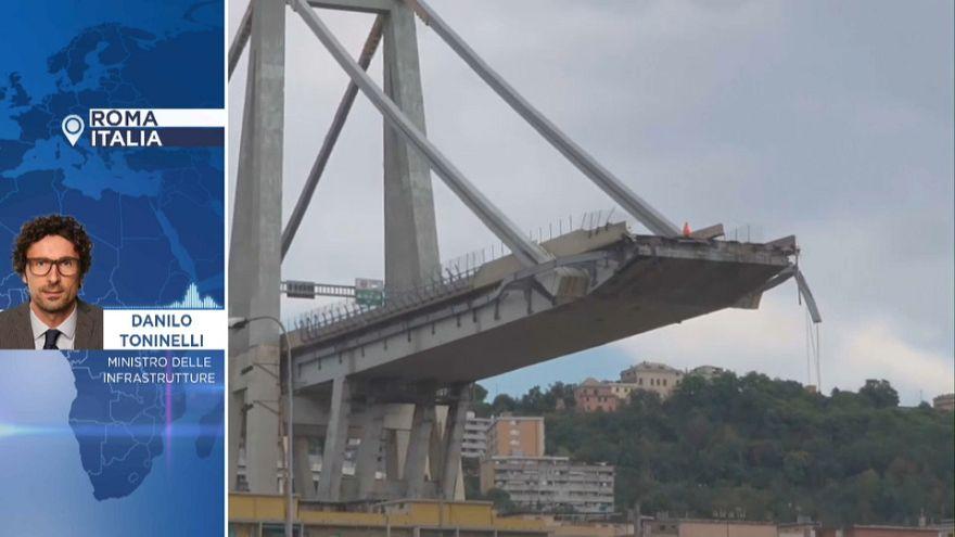 Katastrophe in Genua - Interview mit dem italienischen Verkehrsminister Danilo Toninelli