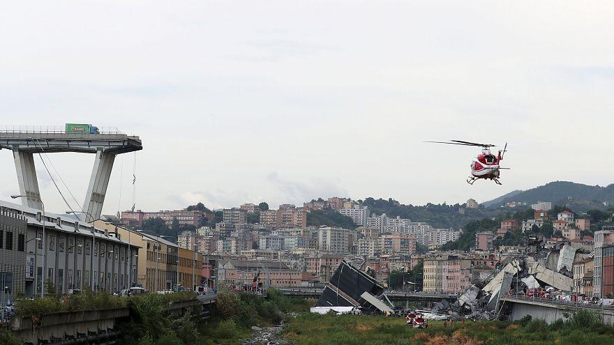Genova, la solidarietà del mondo all'Italia
