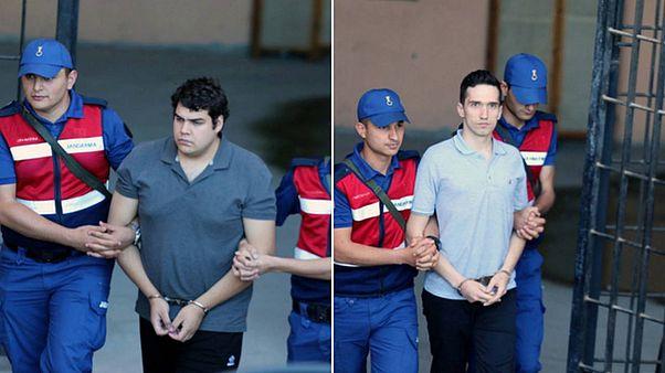 Ελεύθεροι οι δύο Ελληνες στρατιωτικοί, επιστρέφουν στην Ελλάδα