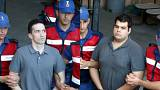 Yunan askerleri tutuksuz yargılanmak üzere serbest bırakıldı