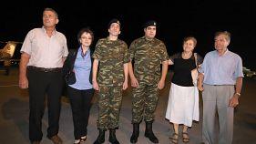 Στην πατρίδα οι Έλληνες στρατιωτικοί