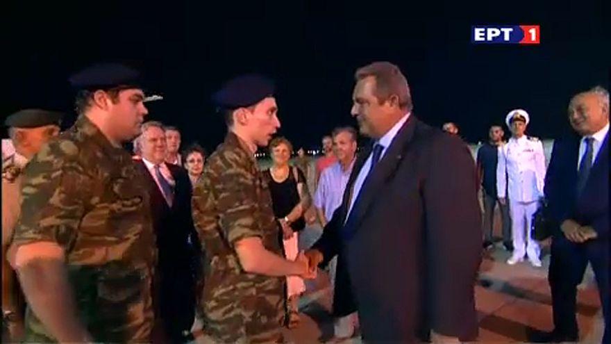 Hazatérhettek a Törökországban letartóztatott görög katonák