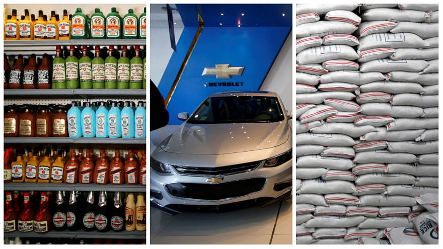 Alkolden pirince Türkiye'den ABD ürünlerine ek vergi