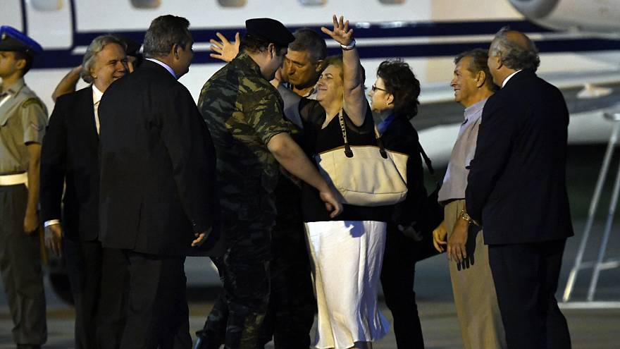 Grèce : les deux soldats détenus en Turquie de retour au pays