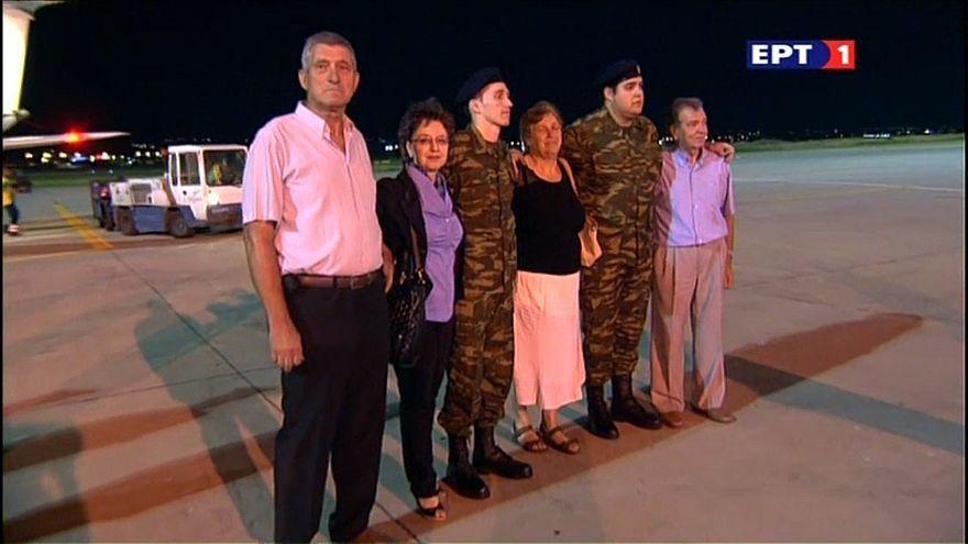 Türkei lässt griechische Soldaten frei