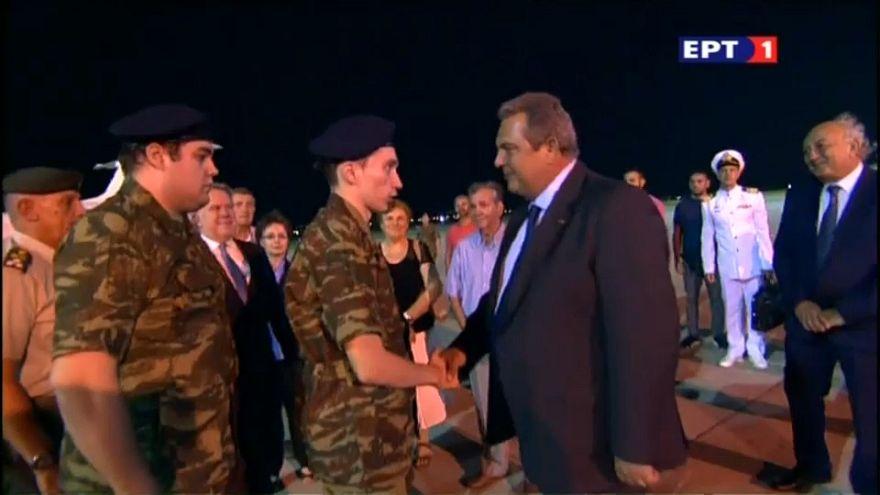 Turquía pone en libertad a dos soldados griegos