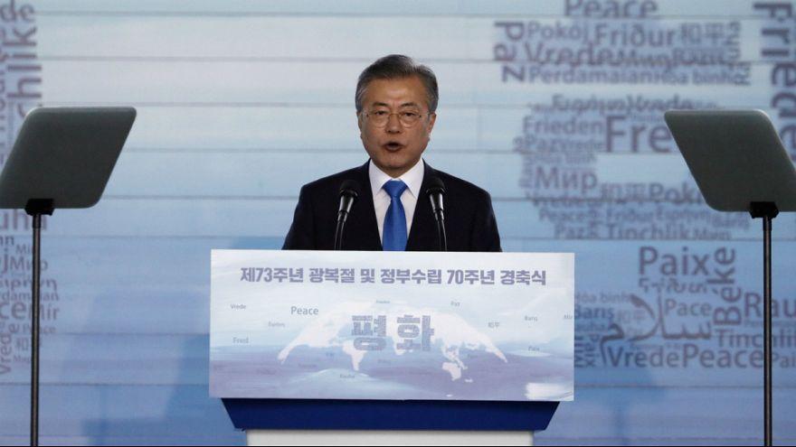 رئیس جمهوری کره جنوبی از امضای پیمان صلح با پیونگ یانگ خبر داد