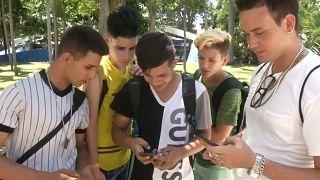 Internet por um dia em Cuba