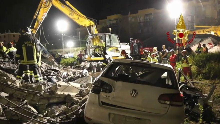 """""""Apokalyptische Bilder"""" - ein Genua-Überlebender erzählt"""