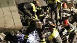 """Sobrevivente a queda de ponte em Génova descreve cenário """"apocalíptico"""""""