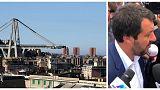 ¿Es la tragedia de Génova culpa de Europa como afirma Salvini?