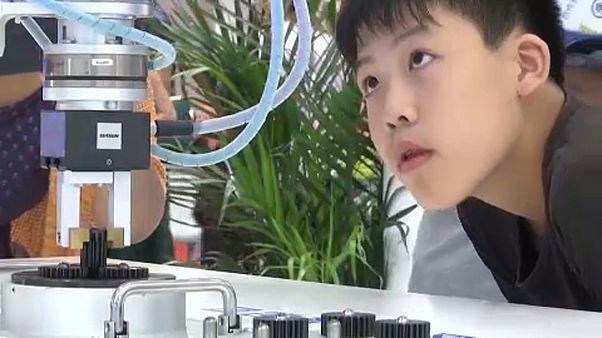Robotkonferencia Pekingben