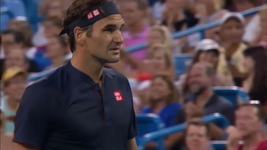 Wieder in Cincinnati: Federers erfolgreiche Rückkehr