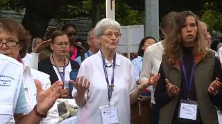 Sister Bernadette Moriau carries message of hope to Lourdes
