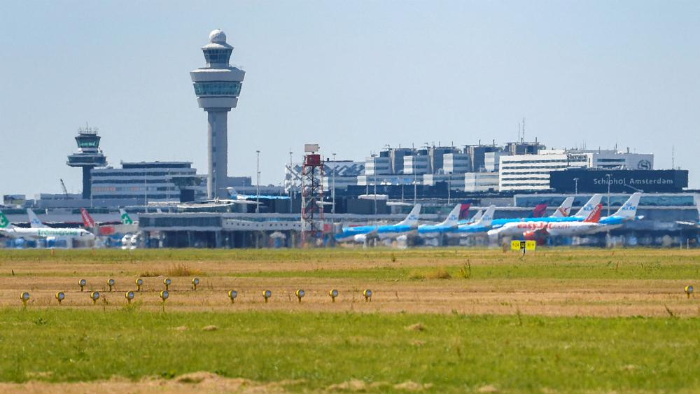 Disruption at Schiphol Airport amid air traffic communication problems