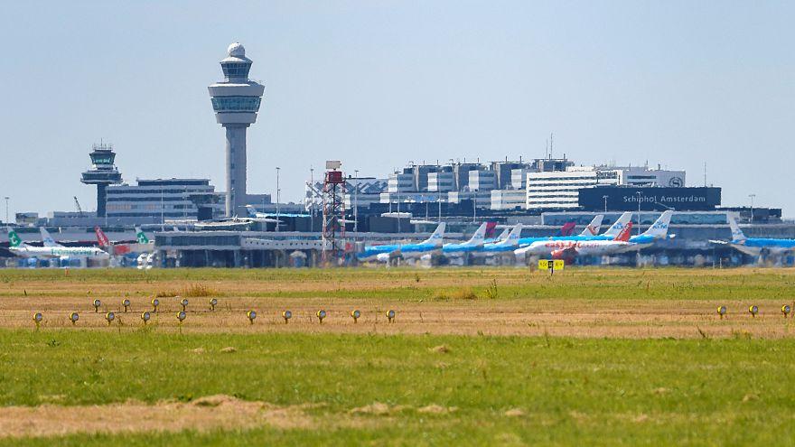 Panoramasicht Flughafen Schiphol
