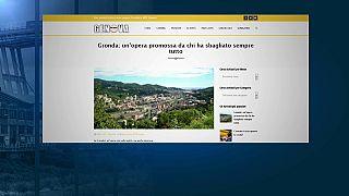 """La """"Gronda"""" avrebbe evitato il crollo? È polemica a Genova"""