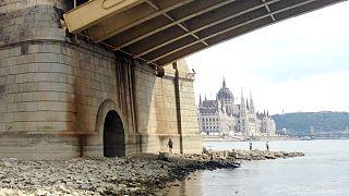 Víz alatti alagút került szárazra a Margit hídnál