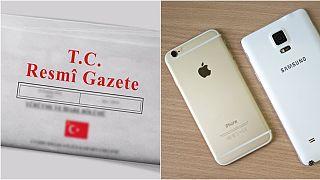 ABD'ye ek vergi listesi Resmi Gazete'de yayınlandı, listede iPhone yok