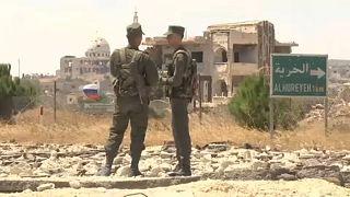 Az orosz hadsereg a Golan-fennsíkon