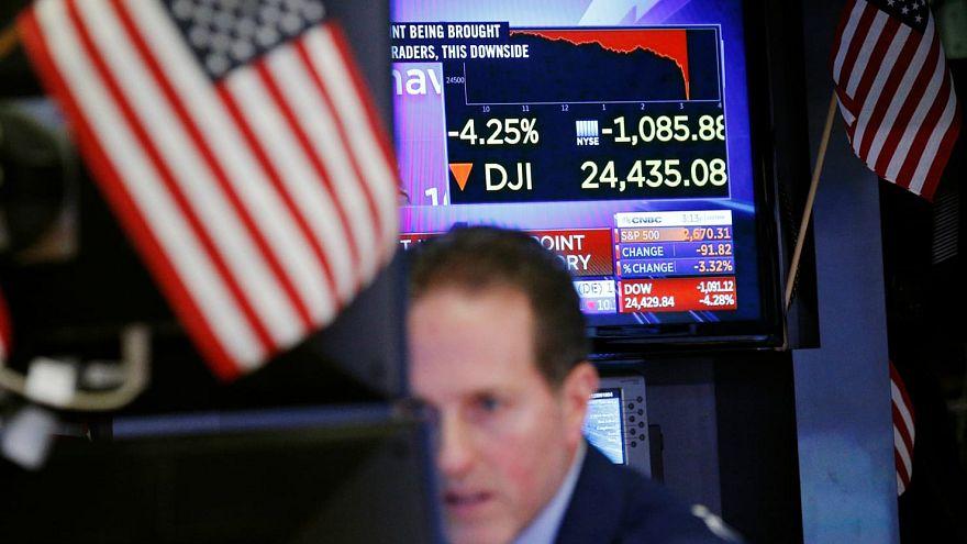 ABD borsalarından son haftaların en kötü performansı