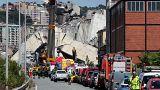 Who are the victims of the Genoa bridge collapse?