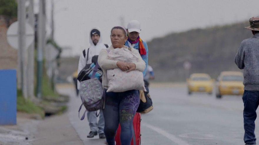 In fuga dal Venezuela: 2,3 milioni di persone hanno lasciato il paese