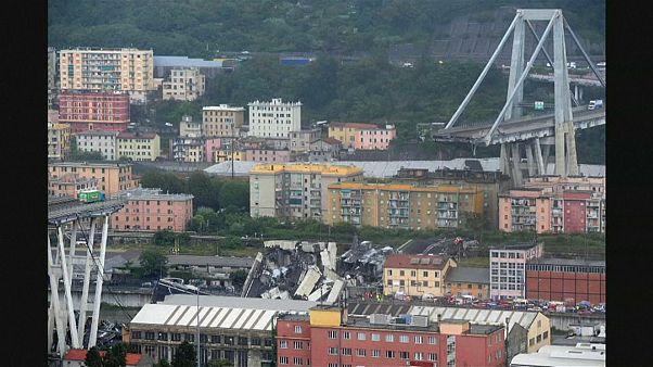 Σοβαρές επιπτώσεις από την κατάρρευση της γέφυρας στη Γένοβα