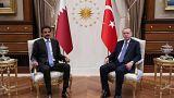 أمير قطر في تركيا واستثمارات بقيمة 15 مليار دولار