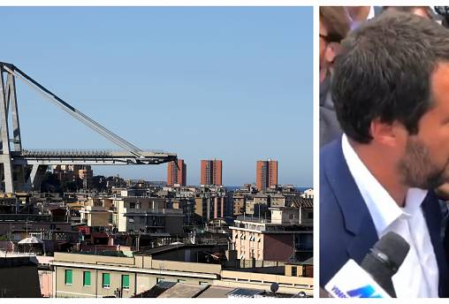 Was Salvini right to blame Brussels for Genoa bridge collapse?
