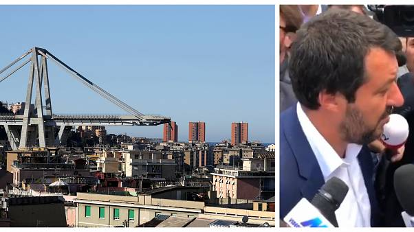 Was Salvini right to blame Brussels for Genoa bridge collapse?: Factcheck