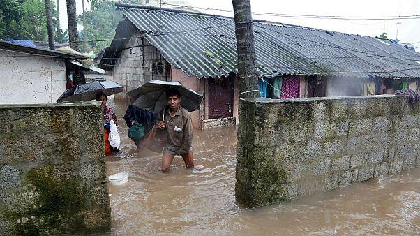 سیل در هند ۶۷ کشته و ۵۰ هزار آواره بر جا گذاشت