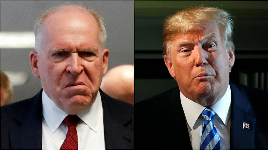Trump opts to revoke former CIA director Brennan's security clearance