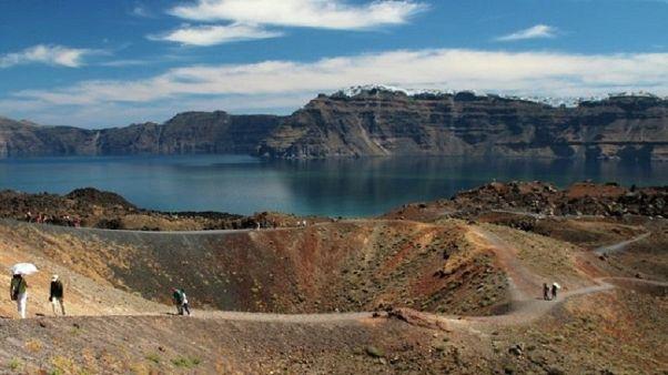 Σαντορίνη: Πιο πρόσφατη η έκρηξη του ηφαιστείου