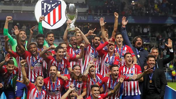Atletico Madrid Süper Kupa'yı ezeli rakibinden söktü aldı