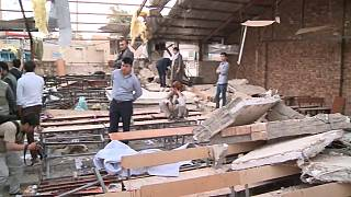 Suicide bomber kills 34  people at an education centre in the Afghan capital Kabul