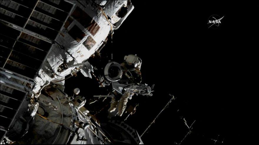 ISS: camminata spaziale