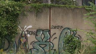 الجزء المكتشف من الجدار