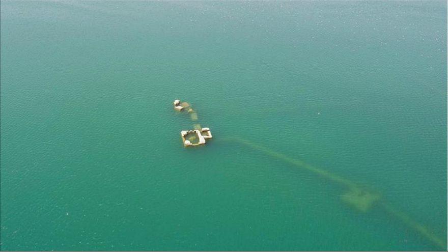 شهر زیر آب ترکیه